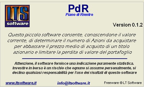 Pdr piano di rientro software gratuito for Software di piano planimetrico